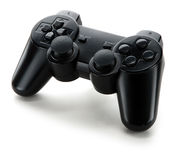 Het controlemechanisme van het videospelletje Stock Afbeelding