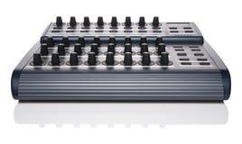 Het controlemechanisme van MIDI Stock Fotografie