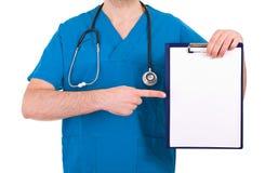 Het Controleren van de medische Arts Royalty-vrije Stock Foto's