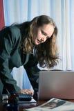 Het controleren van E-mail Stock Fotografie