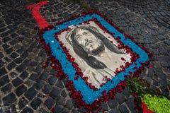 Het corpusdomini Palestrina van Jesus Stock Afbeelding