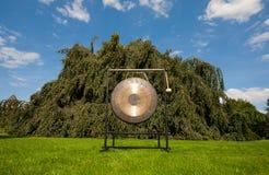 Het correcte helen van de gong royalty-vrije stock afbeelding