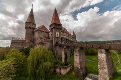Het Corvin-Kasteel in Roemenië Royalty-vrije Stock Afbeelding