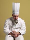 Het creëren van chef-kok. royalty-vrije stock fotografie