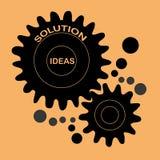 Het creëren van ideeën Vector Illustratie