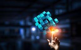 Het creëren van nieuwe technologieën Royalty-vrije Stock Afbeelding