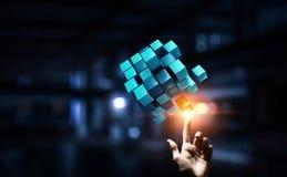 Het creëren van nieuwe technologieën Stock Fotografie