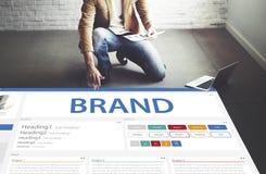 Het creatieve Concept van het het Ontwerpmalplaatje van de Steekproefwebsite Stock Fotografie