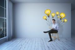 Het creatieve Concept van het Idee Stock Afbeeldingen