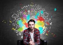 Het creatieve Concept van Ideeën Royalty-vrije Stock Foto