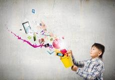 Het creatieve Denken Royalty-vrije Stock Foto's