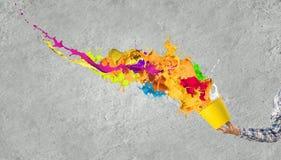 Het creatieve Denken Stock Fotografie
