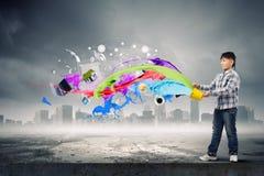 Het creatieve Denken stock afbeelding
