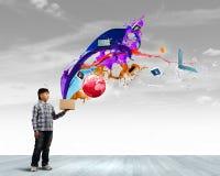 Het creatieve Denken Stock Foto's