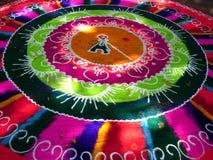 Het creatieve Kleurrijke Art. van de Straat royalty-vrije stock foto's