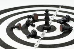Het crisisbeheer, offert wat om bedrijfssucces te winnen strate royalty-vrije stock afbeelding