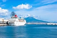 Het cruiseschip Stock Fotografie