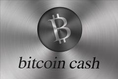 Het cryptocurrenciesconcept van het Blockchainnetwerk, is een onafbreekbaar digitaal grootboek van economische transacties royalty-vrije illustratie