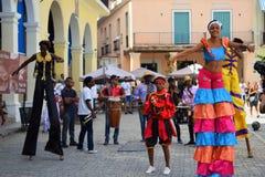 Het Cubaanse leven stock afbeeldingen