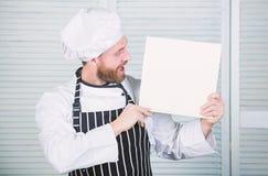 Het culinaire concept van het receptenboek Verbeter het koken vaardigheid Uiteindelijke kokende gids voor beginners De receptenex stock foto's