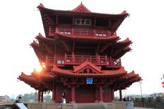 Het cultureel erfgoed van China stock afbeeldingen