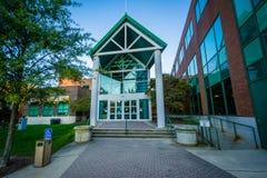 Het Culturele Centrum van Greensboro, in Greensboro van de binnenstad, het Noordenca royalty-vrije stock fotografie