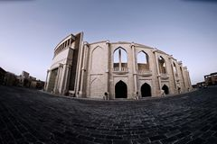 Het Culturele Dorp Amphitheatre van Doha royalty-vrije stock foto's