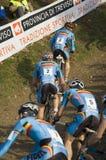 Het cyclo DwarsKampioenschap 2008 van de Wereld Stock Foto's