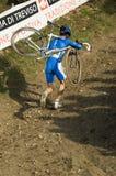 Het cyclo DwarsKampioenschap 2008 van de Wereld stock fotografie