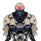 het 3D CG-teruggeven van robot vector illustratie