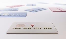 het 3d teruggeven Betalingen zonder contact Royalty-vrije Stock Foto's