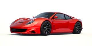 het 3D teruggeven - generisch concept off-road auto Stock Foto's