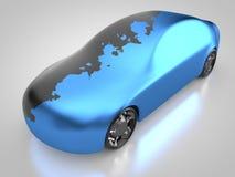 het 3D teruggeven: het auto schilderen Royalty-vrije Stock Afbeelding