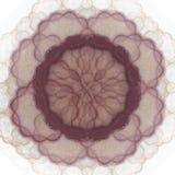 het 3D teruggeven met wijn abstract fractal patroon Royalty-vrije Stock Afbeelding