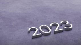 het 3d teruggeven van 2023 royalty-vrije illustratie