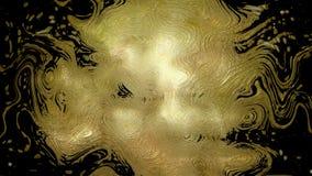 het 3D teruggeven van abstracte draaien en bekendheid van heldere deeltjes Patronen van lichte vlekken Royalty-vrije Stock Foto's
