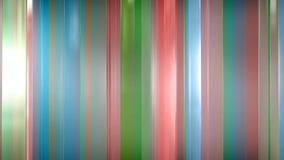 het 3D teruggeven van abstracte dunne glaspanelen in ruimte De Comités glanzen en wijzen op elkaar Stock Afbeelding