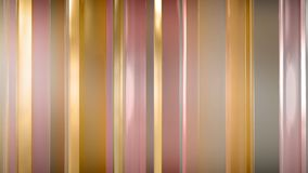 het 3D teruggeven van abstracte dunne glaspanelen in ruimte De Comités glanzen en wijzen op elkaar Stock Afbeeldingen