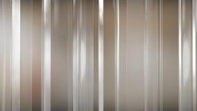 het 3D teruggeven van abstracte dunne glaspanelen in ruimte De Comités glanzen en wijzen op elkaar Stock Fotografie