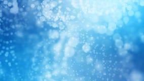 het 3D teruggeven van abstracte glanzende blauwe achtergrond Stock Foto's