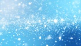 het 3D teruggeven van abstracte glanzende blauwe achtergrond Royalty-vrije Stock Foto