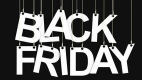 Het 3d teruggeven van Black Friday Royalty-vrije Stock Afbeelding
