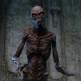 het 3D teruggeven van een griezelig monster Royalty-vrije Stock Foto's