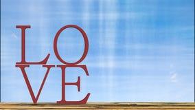 het 3d teruggeven van liefdethema en Valentine-concept Stock Fotografie