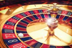 het 3D Teruggeven van roulette Stock Foto's