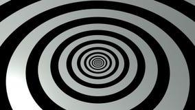 het 3d teruggeven van zwart-witte abstracte achtergrond Stock Foto's