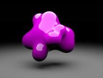 het 3d vorm abstracte teruggeven Stock Foto