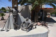 HET DAGELIJKSE LEVEN IN KEIstad NEVADA stock fotografie