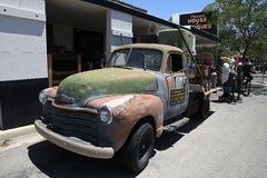 HET DAGELIJKSE LEVEN IN KEIstad NEVADA_BUSINESS EN ARTS. royalty-vrije stock afbeeldingen