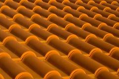 Het dak betegelt diagonaal Stock Afbeeldingen